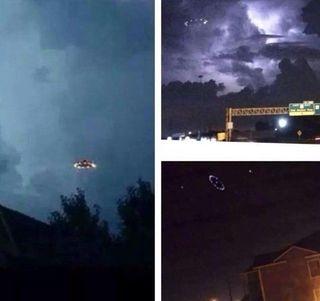 Жители Хьюстона сфотографировали НЛО, пролетевший над городом
