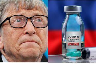 Уколетсяли Гейтс российским препаратом или будет ждать своего? Источники фото: dw.com, naukatv.ru