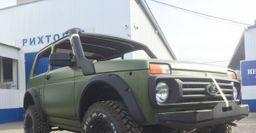 Российский «богатырь» с японским «сердцем»: Рамная LADA 4x4 на агрегатах Mitsubishi Pajero – «Крузаки», по домам!