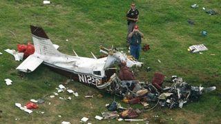 В Удмуртии проводят проверку по факту падения самолета и гибели 2 человек
