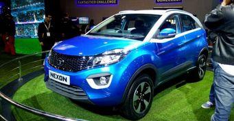 Новая Tata Nexon выведена на испытания в серийном кузове
