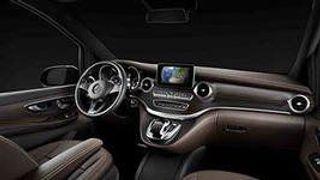 Летом стартуют продажи минивена Mercedes-Benz V-Class