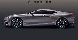 В сети обнародованы рендеры дизайна нового BMW 8 Series