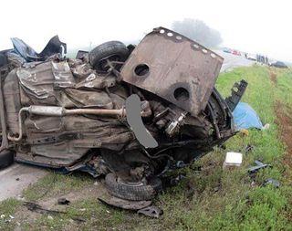 В Ростовской области в тройном ДТП погибли 4 человека