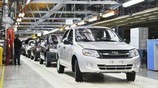 За первые четыре месяца в России сократилось производство легковых авто на 3%