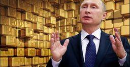 Путин спас рубль от«дефолта» золотом
