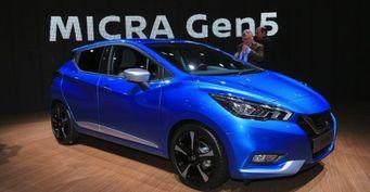 В Великобритании стартовали продажи Nissan Micra 2017
