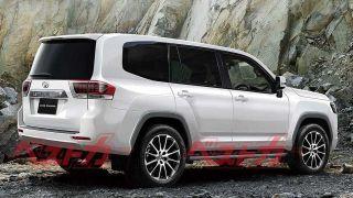Независимый рендер Toyota Land Cruiser 300, источник: motor1