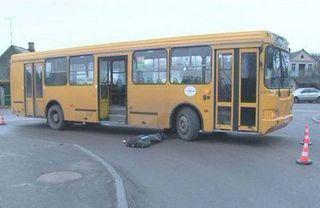 В Лиде автобус насмерть сбил 10-летнего мальчика