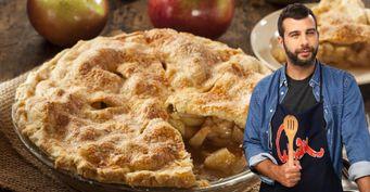 Яблочный пирог от Ивана Урганта. Рецепт из телешоу «Смак»