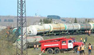 Сошедшие в Татарстане газовые цистерны оказались пусты