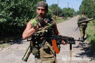 ДНР: Окрестности Иловайска под контролем ополченцев