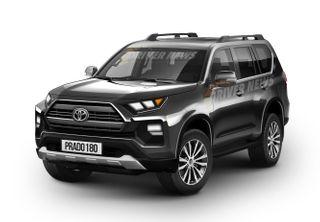 Toyota Land Cruiser Prado нового поколения. Рендер: Driver-News