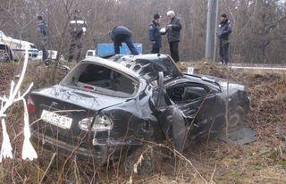 Под Петербургом в аварии с четырьмя машинами погибли два человека