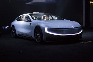 LeEco выпустит электрокар с автопилотом