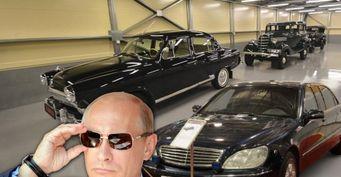 Заработали наПутине: Президентские ГАЗ-21 иMercedes-Benz продали замиллионы рублей