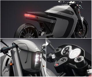 LADA Electro Bike. Проект: Behance, дизайнер Максим Буров