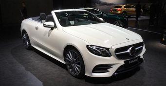 В Женеве представлен новый кабриолет Mercedes-Benz E-Class