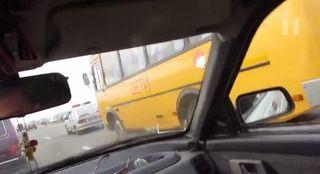 В Минске пьяный водитель «Daewoo» врезался в автобус с детьми