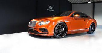 """Тюнеры из Wheelsandmore """"прокачали"""" роскошный Bentley Continental GT"""
