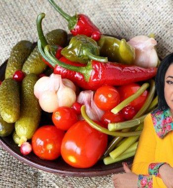 Соленые огурцы и помидоры от Лолиты Милявской: Без закатки и уксуса