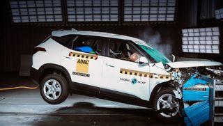 Краш-тест KIA Seltos, источник: Global NCAP