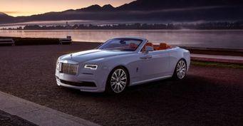 686-сильный кабриолет Rolls-Royce Dawn by Spofec представлен официально
