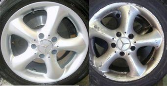 Реставрация литых дисков