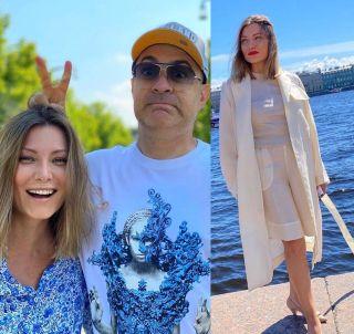 Фото: Жанна Левина и Гарик Мартиросян, Instagram @jannalevina_martirosyan