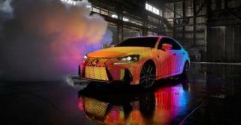 Представлен «светодиодный» седан Lexus IS