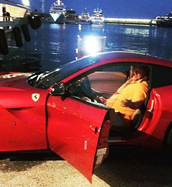 «Ушатали» машину иушли по-английски: Потап иНастя в Майами «убили» люксовый Ferrari 458 F1