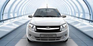 Появились фотографии обновленного седана Lada Granta