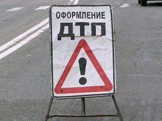 Одна из машин перевернулась в результате массового ДТП в центре Петербурга