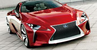 Озвучен ценник на новое купе Lexus LC 500 для Японии