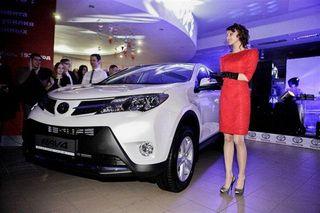 Toyota выпустит на рынок Европы новый «паркетник»
