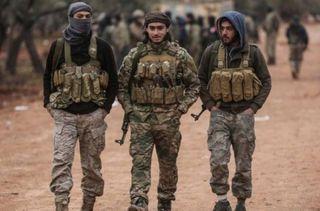 Фото: Сирийские наемники в Нагорном Карабахе, 7or.am
