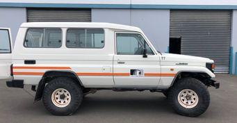 17 лет вАнтарктиде: Уникальный Toyota Land Cruiser выставлен напродажу