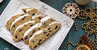 Уже сейчас заготовить новогоднюю выпечку— реально: Немецкий кекс «Штоллен»— сказочное украшение русского стола