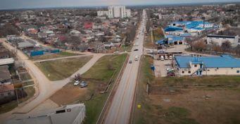 Без Евпатории доавгуста: Пробки вСаках продлятся, из-за капитального ремонта шоссе