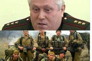 Звёздочки напогоны генералов обмываются солдатской кровью. Источники фото: lenta.ru, mensby.com
