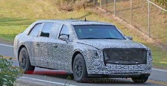 Президентский лимузин Cadillac Beast проходит тесты в США