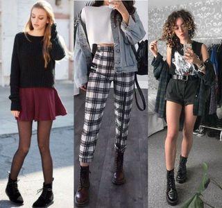 Гранж — долой скучность в одежде. Источник фото: pixabay.com