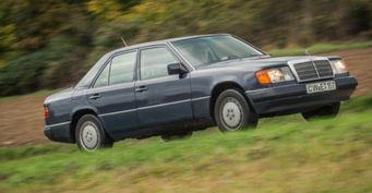 Немец проехал миллион километров на Mercedes Е-Class 1992 года