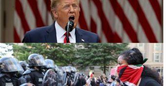 Упреступности нет цвета кожи: Трамп доказал, что нетрус инерасист после убийства «белых» беспредельщиков