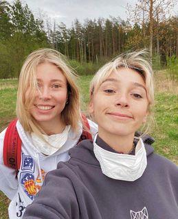 Юлия Коваль иАнастасия Ивлеева. Источник: Instagram koval_now