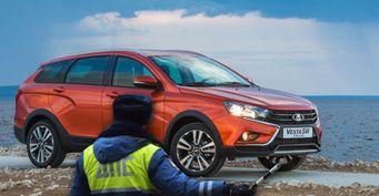 Отштрафа доизъятия номеров: Дилеры LADA нарушают закон нештатными колёсами наVesta SWCross