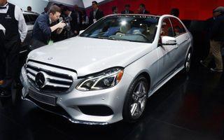 В Россию немецкий концерн Mercedes-Benz привез E-Class с новым 9-ступенчатым «автоматом»