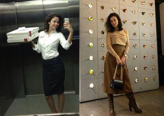Пелагея Карибидис до и после замужества / Фото: instagram/pela_kos