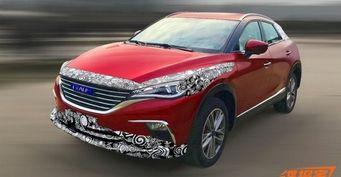 Китайцы из Zotye вывели на тесты копию кросс-купе Mazda CX-4