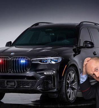 Полицейский сРублёвки оценит: Показан первый бронированный BMW X7 вмире